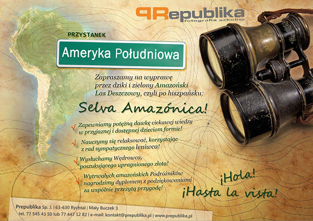 Przystanek: Ameryka Południowa!